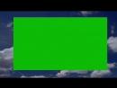 Clouds realistic animation Green Screen Футаж рамка облака Хромакей 1