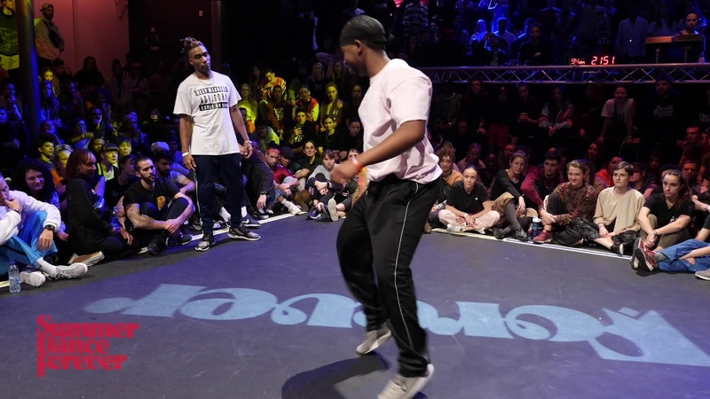Meech vs Hassani 2ND ROUND BATTLE House Dance Forever 2019