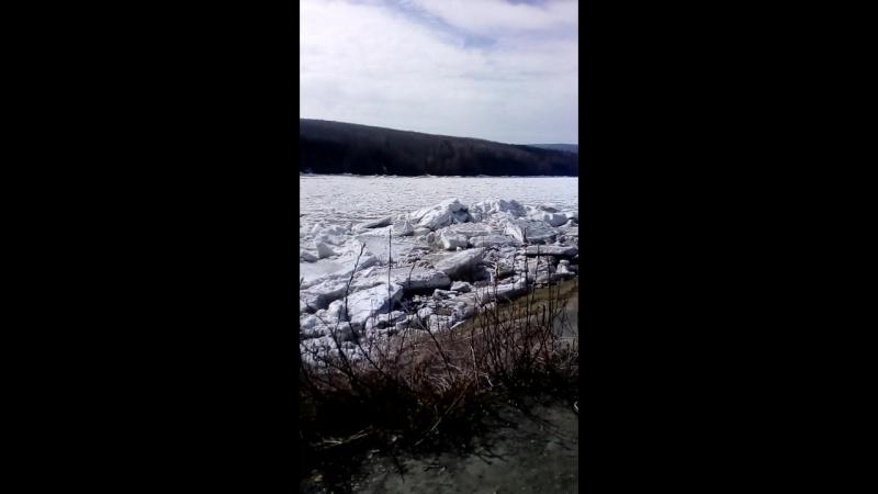 Витим лёд тронулся