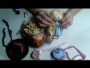 Элегантная шляпка заколка для куклы Школа авторской куклы Мальвина Наталья Черникова
