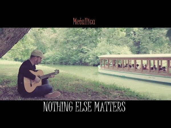 NOTHING ELSE MATTERS - Metallica - fingerstyle guitar cover by soYmartino