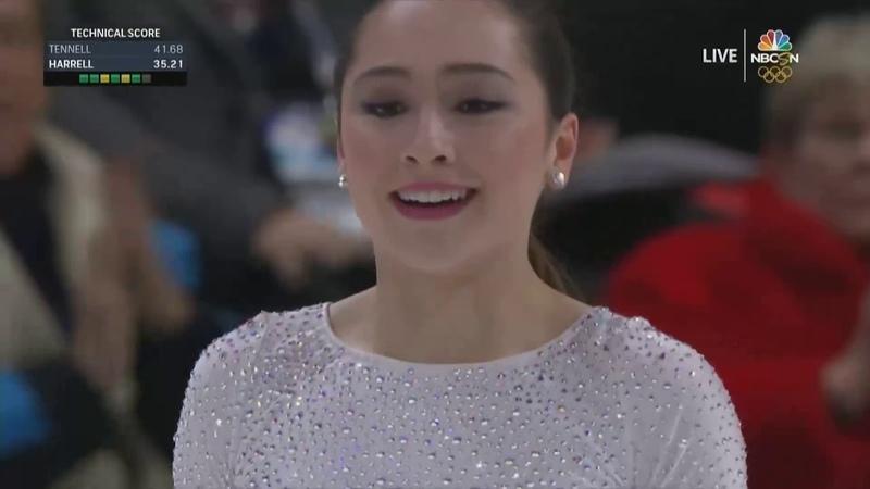 Hanna HARRELL SP US Nationals 2019