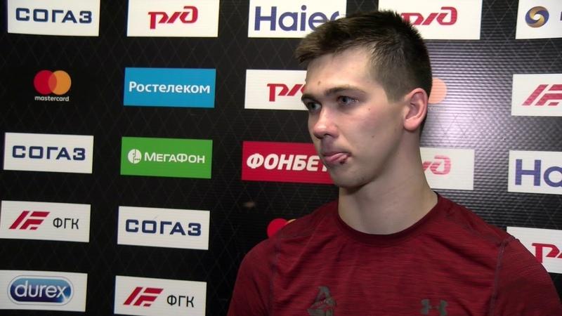 Павел Красковский о победе над «Ак Барсом»