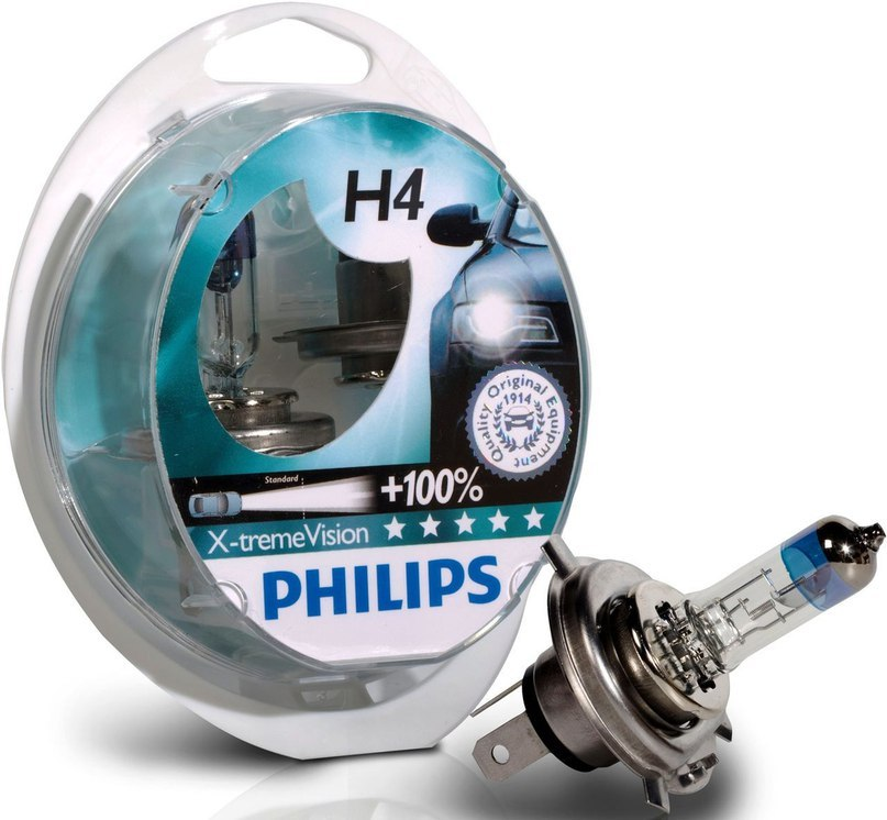 Автомобильные лампы Philips