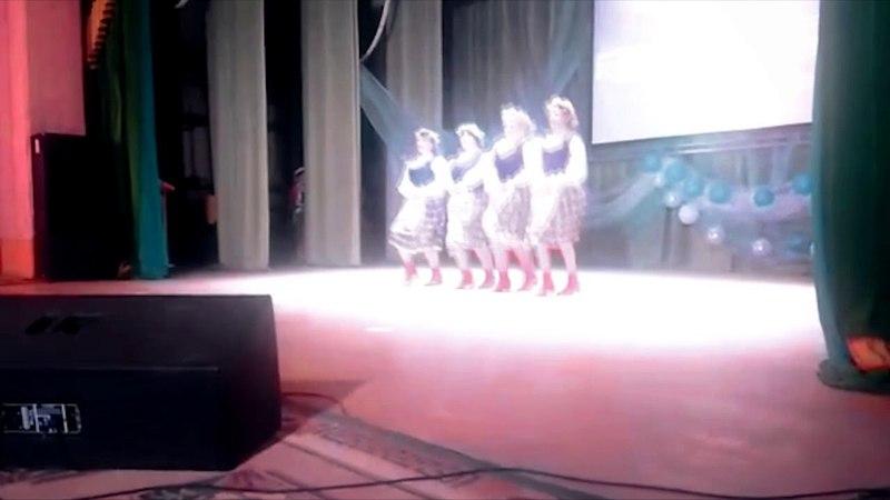 Танц. коллектив Созвездие - Белорусская полька (руководитель Еремеева Е.М.)