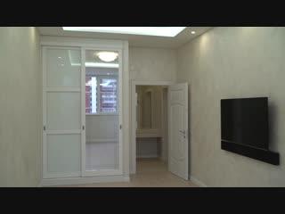 Ремонт на Мосфильмовской. 78 метров двухкомнатная квартира.