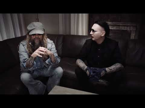 Rob Zombie Marilyn Manson Discuss The First Time They Heard Each Other's Music