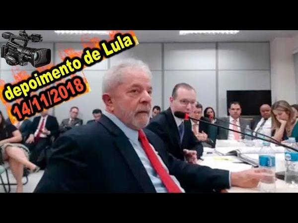 Lula se perde em depoimento 14112018 à juíza substituta da Lava Jato sobre sítio de Atibaia