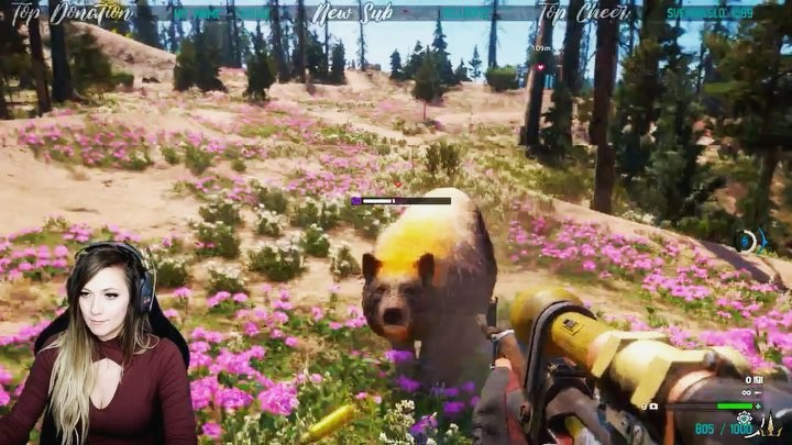 "Lindsay Elyse on Instagram ""In Far Cry New Dawn you can recruit a very old sniper companion called Nana. This is one of her voice lines. 1010."""