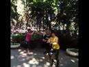 Зумба в парке Эмоции зашкаливают 😁 Зумба Алушта Крым тренировки парк