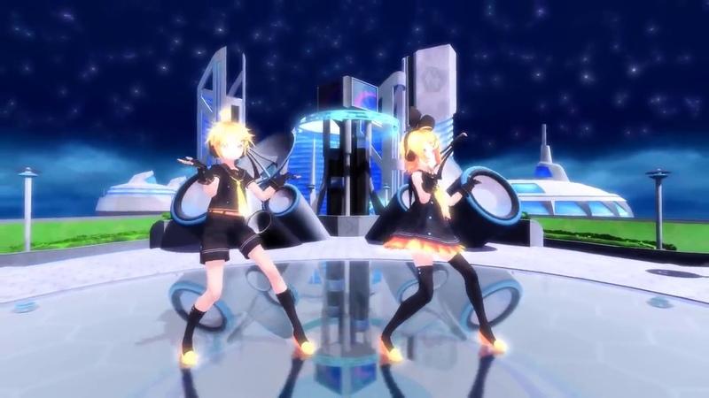 【MMD】 Remote Control 【Kagamine Rin Len】