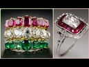 Elegant Ruby and Daimond Wedding Ring's Style For Women's