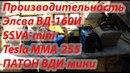 Производительность TESLA MMM255 Патон ВДИ мини Элва ВД 160И SSVA mini