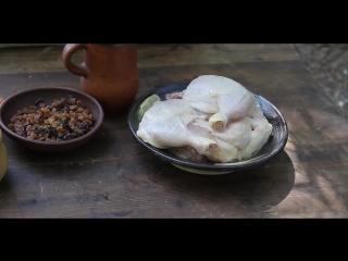 15 Средневековая кухня Фландрии. Курица с изюмом в летнее время