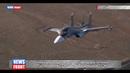 Уникальные кадры воздушных тренировок летчиков штурмовиков Су-25 и бомбардировщиков Су-34