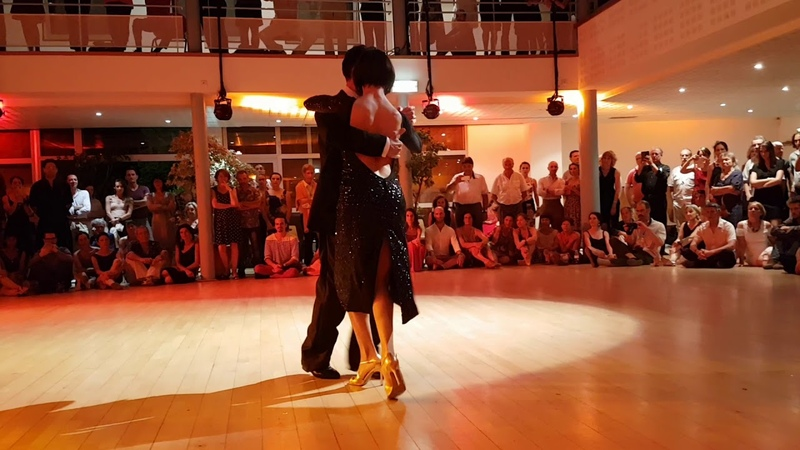 Gisela Paula Natoli Gustavo Rosas ❤@ Tangopostale: Festival Tango Toulouse - Milonga Del Ruecuerdo