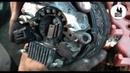 Замена щеток генератора QG16-QG18. Nissan Primera P12
