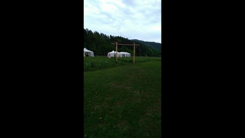 Наши стоянки: трава скашивается и проходит обработка от клещей