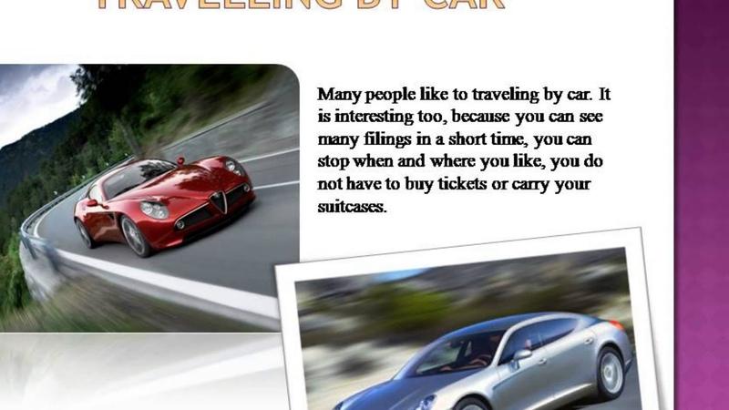 Презентация на тему Travelling