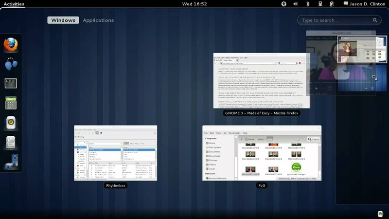 GNOME 3 Creating a Workspace