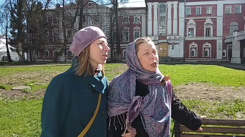 Песни военных лет...Молодёжное Фольклорное Движение в г. Вологде - 9 мая 2018