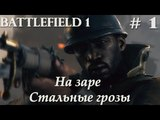 #1 НА ЗАРЕ СТАЛЬНЫЕ ГРОЗЫ! Battlefild 1