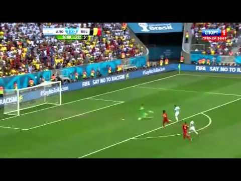 Một lần nữa, Courtois khiến Messi phải bẽ mặt World Cup 2014