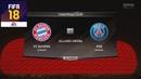 FIFA 18 - БАВАРИЯ - ПСЖ │ФУТБОЛЬНЫЙ ПРОГНОЗ│6 ТУР ЛЧ 2017 /FC Bayern München - PSG/