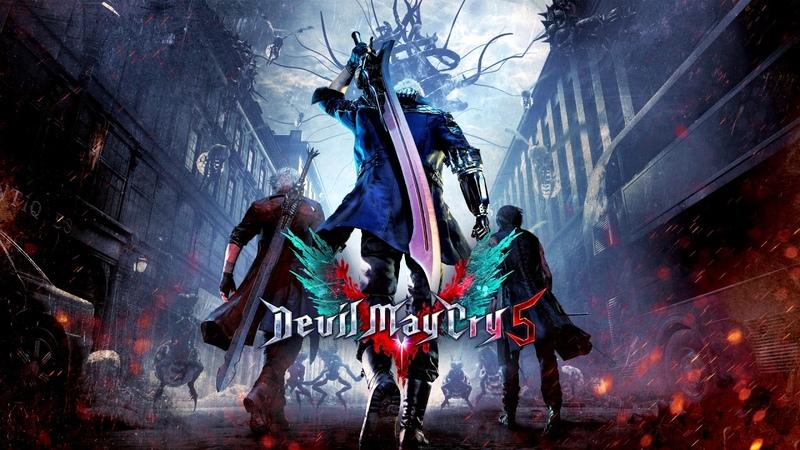DMC5 Devil May Cry 5 OST - Nero's Battle Theme デビル メイ クライ 5