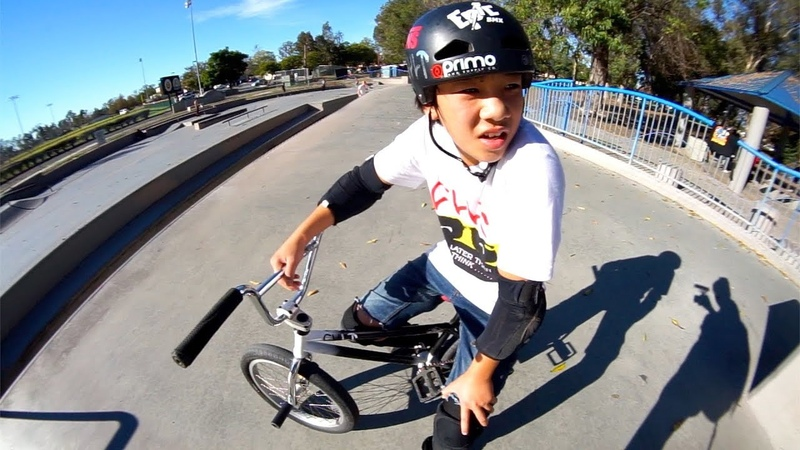15 YEAR OLD MAX VU IS THE FUTURE OF BMX