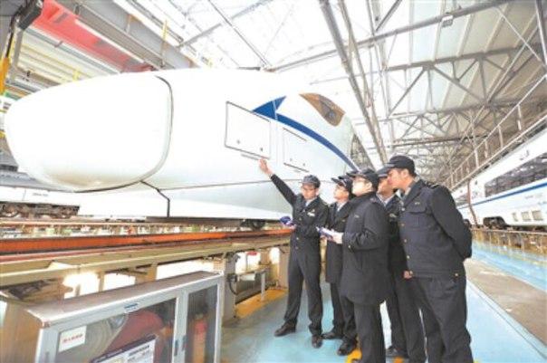 Китай разрабатывает автопилотируемый высокоскоростной поезд Чтобы зап
