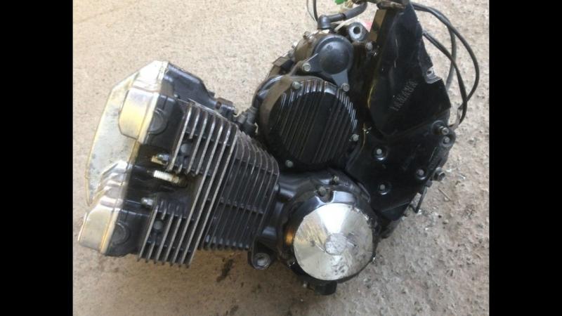 Проверка контрактного двигателя Yamaha XJR400 4HM перед отправкой клиенту   motod.ru