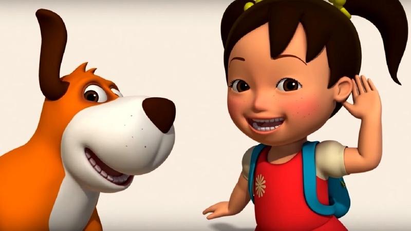 Английский язык для малышей Мяу Мяу сборник серий 27 30 серии учим английский