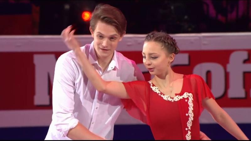 Aleksandra BOIKOVA / Dmitrii KOZLOVSKII (RUS), Gala - 2019 European figure Skating Championships
