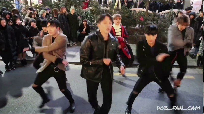180210 디오비 DOB 홍대공연 GOT7 갓세븐 하지하지마 hard carry 하드캐리