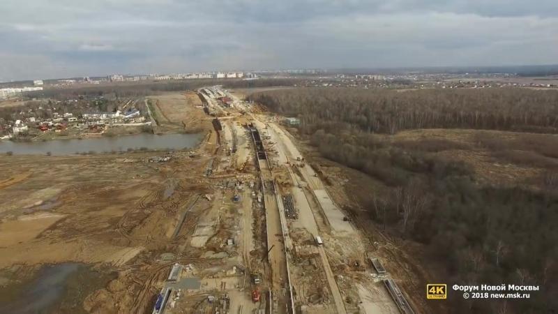 Продление Сокольнической линии от станции Саларьево до Столбово