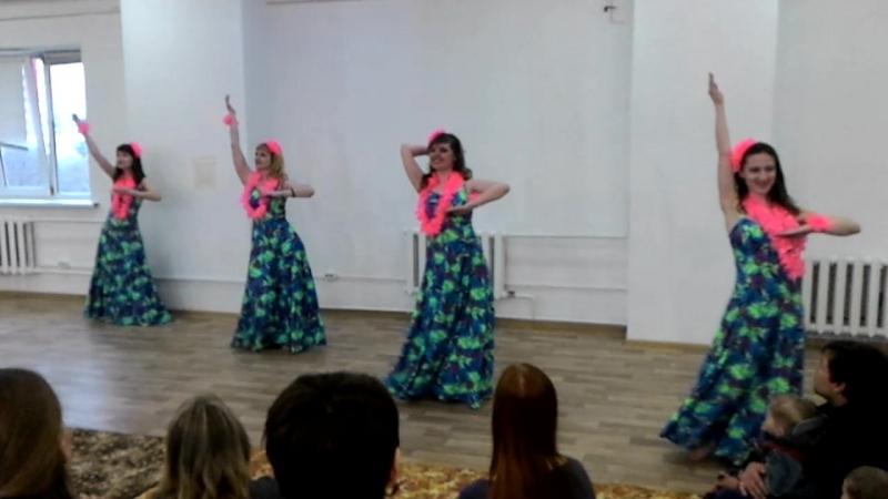 Гавайский танец на IV Телесном фестивале Любовь через прикосновение