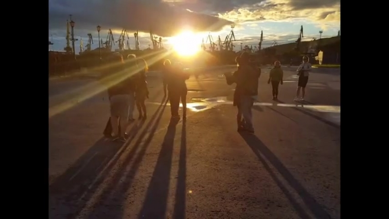 23-24.06.2018 Флешмоб кизомба, Мурманск - морской вокзал