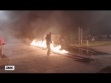 Fear the Walking Dead S04E08 Flaming Oil-Covered Walkers