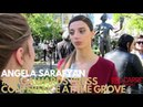 Angela Sarafyan interviewed at 23rd SAG Awards® Press conference with The Actor® statue at the Grove