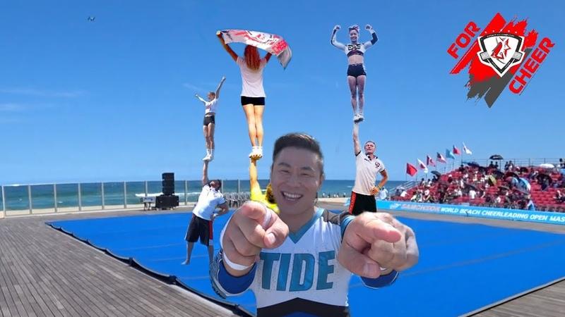 Samcheok World Beach Cheerleading Open Masters. Day 2