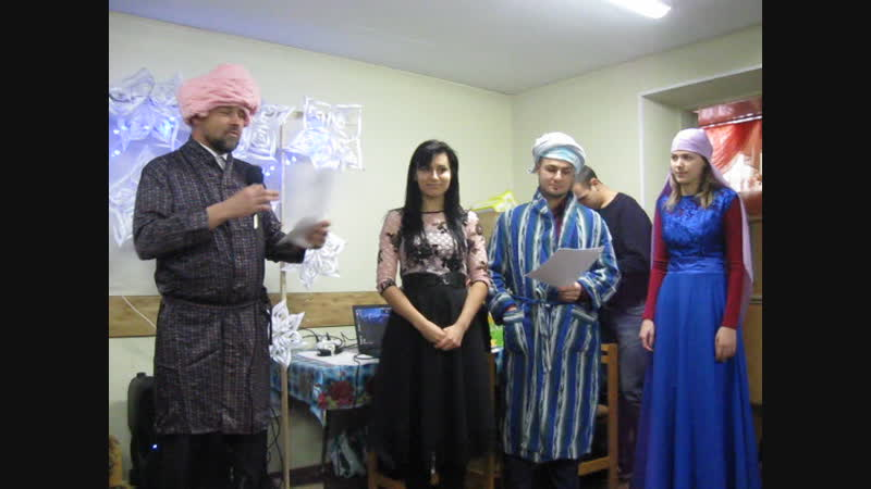 Заморские гости на празднике