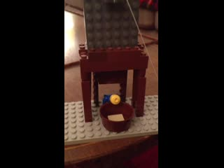 Heads up my brother made a lego guillotine