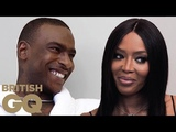 Naomi Campbell and Skepta on the first time they met British GQ
