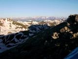 утро на перевале Чилик