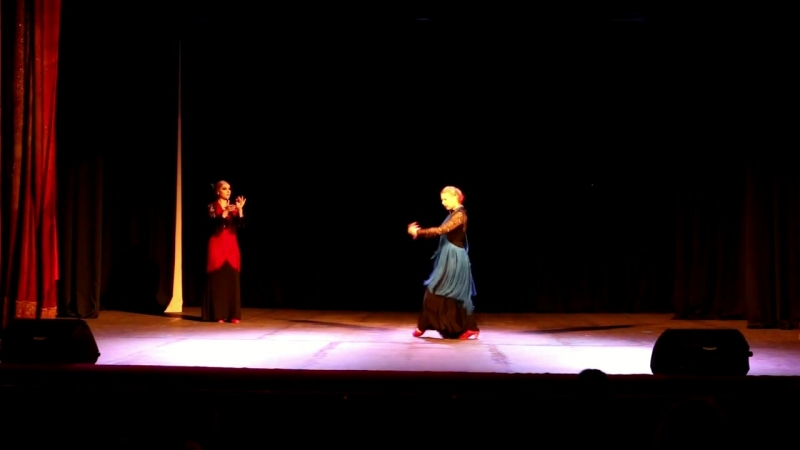 II Сибирский фестиваль фламенко iOle con Ole!. «Flor de Azahar» Taranto (21.4.2018)