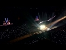 BTS WINGS TOUR FINAL- Army singing Born singer Loudly