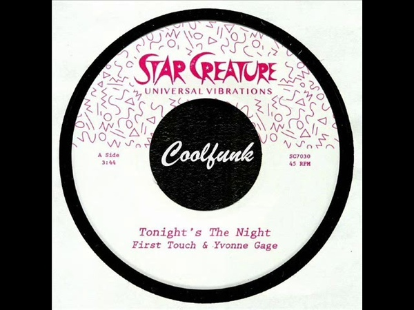 First Touch Yvonne Gage - Tonight's The Night (2018)