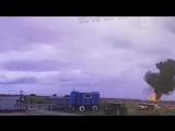 Видео падения легкомоторного самолета