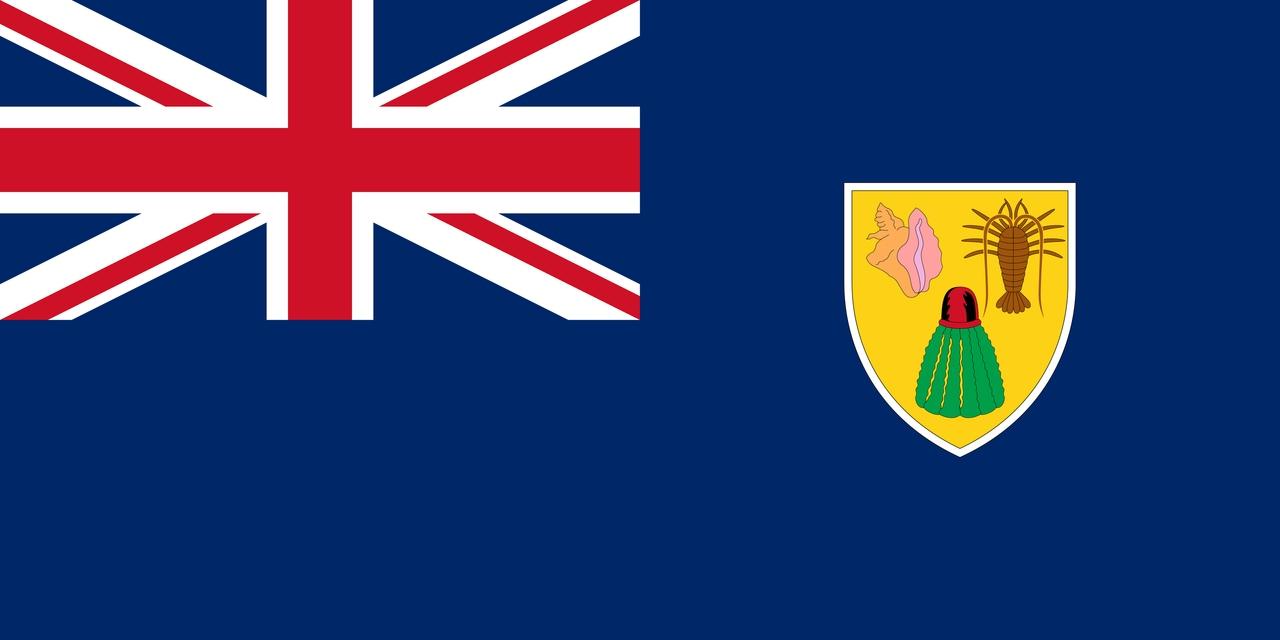 Флаг Острова Теркс и Кайкос